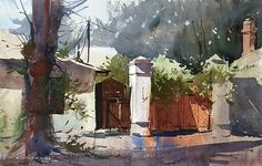 Eugen Chisnicean - Old Town Chisinau Moldova- Watercolor - Painting entry - October 2010 | BoldBrush Painting Competition