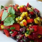 Black bean and corn salad from AllRecipes.