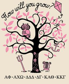 How will you grow? Panhellenic recruitment go greek