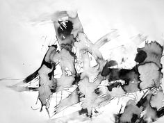 19x25in Modern Minimal Zen Poetic Gestural Ink Original OOAK Unique Contemporary Fine Art Abstract Expressionist Surreal Intuitive Drawing