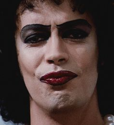 Tim Curry (gif) as Dr. Frank N. Furter in The Rocky Horror Picture Show