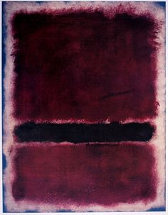 WOWGREAT - dailyrothko: Mark Rothko, Untitled, 1963