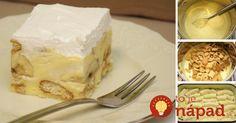 Brzo i bez pečenja: Preukusni kolač sa bananama - Dnevni. Pie Dessert, Cookie Desserts, Sweet Desserts, Sweet Recipes, Cake Recipes, Dessert Recipes, Bosnian Recipes, No Bake Cookies, Diy Food