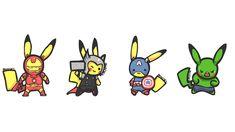 pikachu vingadores