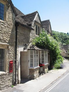 The Pold post office, Castle Combe, Cotswolds