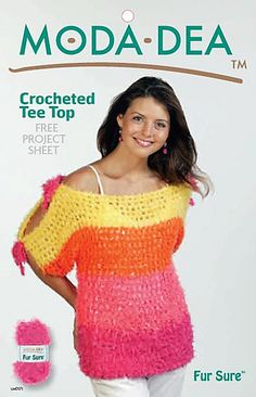 Ravelry: Crocheted Tee Top pattern by Mary Jane Protus