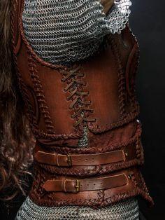 Lagertha Leather Armor viking women breastplate LARP and Viking Armor, Larp Armor, Cosplay Armor, Cosplay Costumes, Pirate Costumes, Woman Costumes, Mermaid Costumes, Group Costumes, Adult Costumes