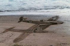 Extraordinary 3D Beach Art by Jamie Harkins