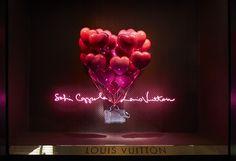 Celebrating the Louis Vuitton x Sofia Coppola Fantasy Windows at the Bon Marché Rive Gauche Paris