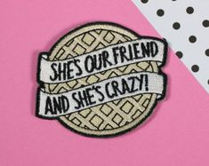 Eggo Iron On Patch // patchgame, embroidered patch, stranger things // PT017