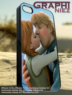kristoff and anna kiss frozen disney   iPhone by Graphiniez, $12.75