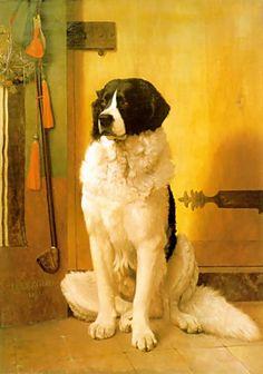 Study of a Dog by Jean-Léon Gérôme