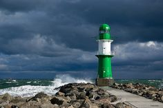 Lighthouse of Warnemunde, Germany