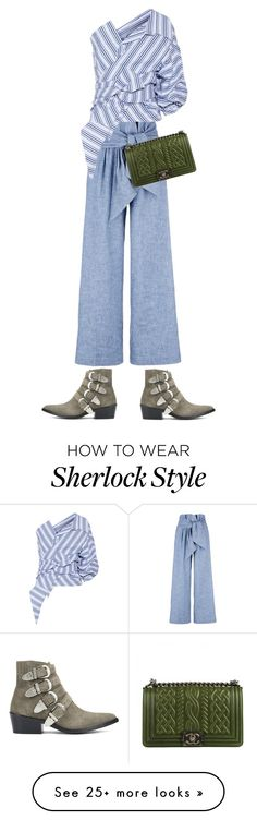 """Untitled #132"" by line-tscherning on Polyvore featuring MSGM, Johanna Ortiz, Toga and Chanel"