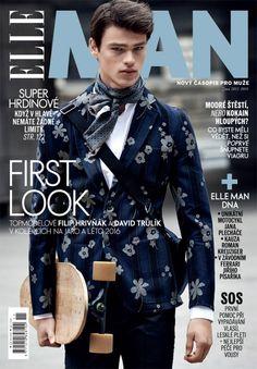 Filip Hrivnak Lands The Cover of ELLE Man