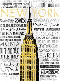 Jace Grey New York - Yellow
