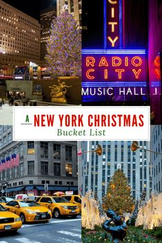A New York Christmas Bucket List! Check out our list of can't miss Holiday a… A New York Christmas Bucket List! Check out our list of can't miss Holiday activities in New York City! New York City Vacation, Visit New York City, New York City Travel, New York City Christmas, Christmas Travel, Christmas Vacation, Holiday Travel, Christmas Skirt, Holiday List
