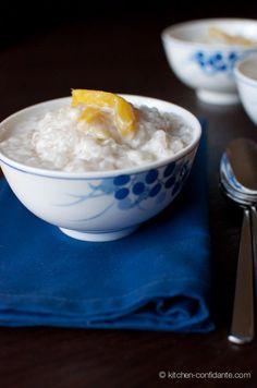 Filipino Coconut-Tapioca Pudding with Glutinous Rice Balls
