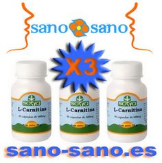 3 X L-Carnitina Sotya, 90 capsulas vegetales de 400 mg.- Quema grasas. Aprovecha la oferta!!!