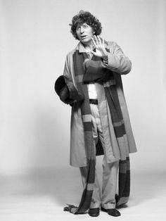 Tom Baker as The Doctor.