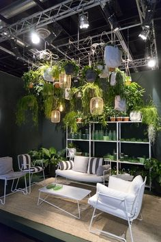 Hanging garden idea from imm Cologne 2017
