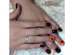 Halloweeny Nails by Anthony