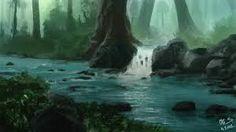 Image result for rainforest fantasy art