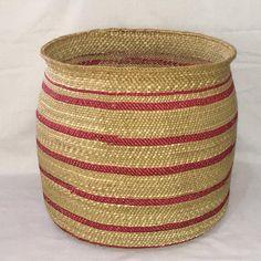 Excited to share this item from my #etsy shop: Woven Iringa basket, Market basket, Toy storage basket, Planter basket, Decorative basket, Laundry basket, Valentine gift for her