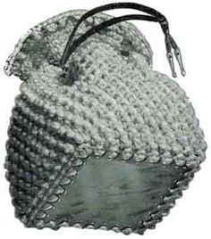 Plastic Bottom, Square Bag | Free Vintage Crochet Pattern