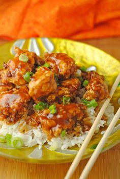 General Tsos Chicken. Certainly one of my favorites and then it's so easy to boot! Winner, winner.....Chicken Dinner!!!