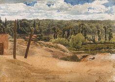 View of Kensington Gardens, ca. 1811  John Linnell (British, 1792–1882)  The Metropolitan Museum of Art