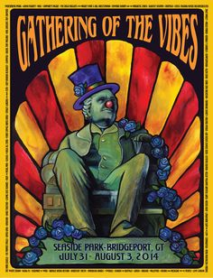 2014 PT Barnum Poster | Gathering of the Vibes Music Festival