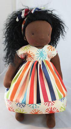 1618 inch Slim Waldorf Doll Dress by reggiesdolls on Etsy