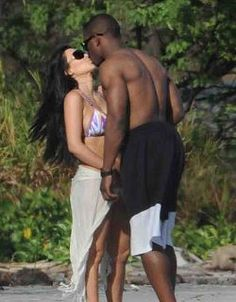 Reggie Bush And Kim Kardashian Beach 13 Best Kim Kar...