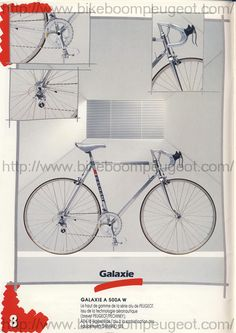 Stickers Transfers Set 365 Peugeot Bicycle Decals