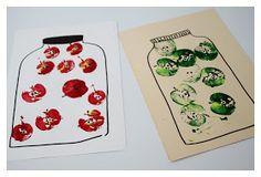 Perjantaiteema: Lasten kanssa - Helppo omena-askartelu Plastic Cutting Board, Playing Cards, Kids, Crafting, Young Children, Boys, Children, Do Crafts, Kid
