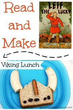Read and Make Viking Lunch~ Such a cute post! Add a little fun to lunch time with a Viking hat shaped sandwich, and when you're done, read the recommended books to make the learning stick! Perfect for a fun lunch or a Viking learning unit. Vikings For Kids, Viking Books, My Father's World, Cooking With Kids, Kids Learning, Early Learning, Kids Meals, Activities For Kids, Recommended Books