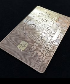 The Aurae MasterCard is one luxurious way to shop. The solid gold card is provided to those lucky enough to be invited to join the exclusive Aurae Lifestyle Membership program.
