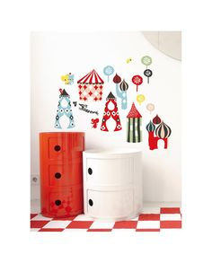 Kartell Componibili - Post by WindMill deco Room Inspiration, Interior Inspiration, Decorate Your Room, House Doctor, Kids Corner, Kid Spaces, Kids Decor, Kids House, Kids Furniture