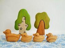 Spielzeug Set Enten (5 Teile) Bauernhof Spielzeug
