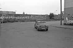 Waldemarstr. Ecke Luckauer Str. in Berlin-Kreuzberg West Berlin, Berlin Wall, East Germany, City