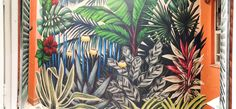 Selva Mural Nro. 3 Medidas: 2,5 x 3 mts. Residencia Privada Las Cañitas · Buenos Aires · Argentina Mayo 2014    Selva Mural Nro. 3 from Lucila Dominguez on Vimeo.