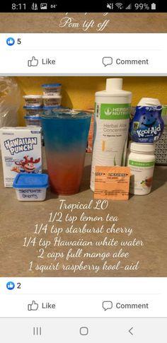 Herbalife Products, Herbalife Shake Recipes, Herbalife Recipes, Protein Shake Recipes, Herbalife Nutrition, Protein Shakes, Drinks Alcohol Recipes, Tea Recipes