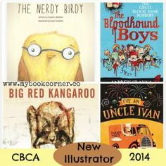 CBCA Book Awards Shortlist 2014 ~ New Illustrator Award. Fabulously illustrated picture books and chapter books.