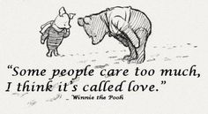 Winnie the Pooh words-to-live-by