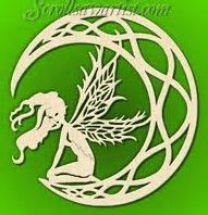 Image result for scroll saw patterns fairies