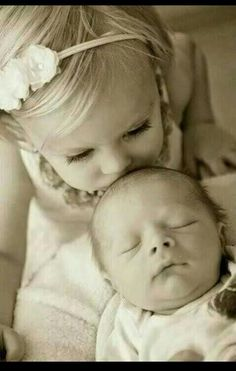 with new born