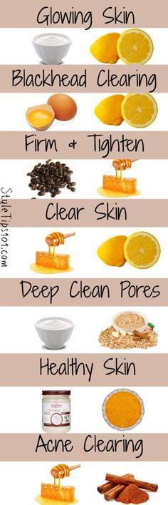 7 DIY face masks for glowing skin - masks # for . - 7 DIY face masks for glowing skin - Face Skin Care, Diy Skin Care, Beauty Care, Beauty Skin, Diy Beauty, Beauty Hacks, Beauty Ideas, Beauty Makeup, Face Beauty