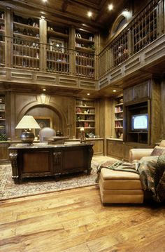 Mediterranean Home Office Design Ideas Pictures Remodel And Decor
