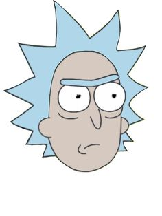 rick and morty face - Google Search